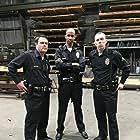"John Douglas, Steven Sparrow, and Tyler McDanniel on the set of ""Dirt"" (2016). Directed by Alex Ranarivelo."