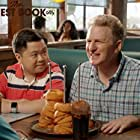 Michael Rapaport and Matthew Moy in The Guest Book (2017)