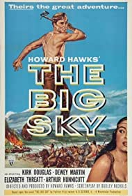 Kirk Douglas and Elizabeth Threatt in The Big Sky (1952)