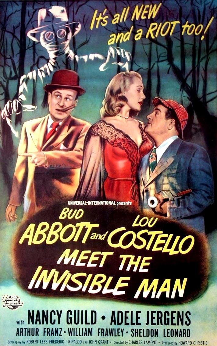 Bud Abbott Lou Costello Meet the Invisible Man (1951) - IMDb