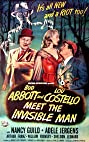 Bud Abbott Lou Costello Meet the Invisible Man (1951) Poster