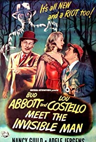Primary photo for Bud Abbott Lou Costello Meet the Invisible Man