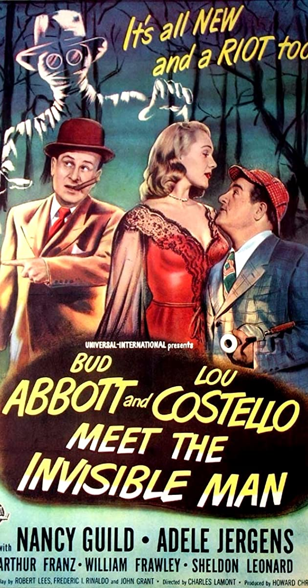 Subtitle of Bud Abbott and Lou Costello Meet the Invisible Man