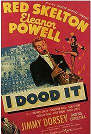 I Dood It Poster