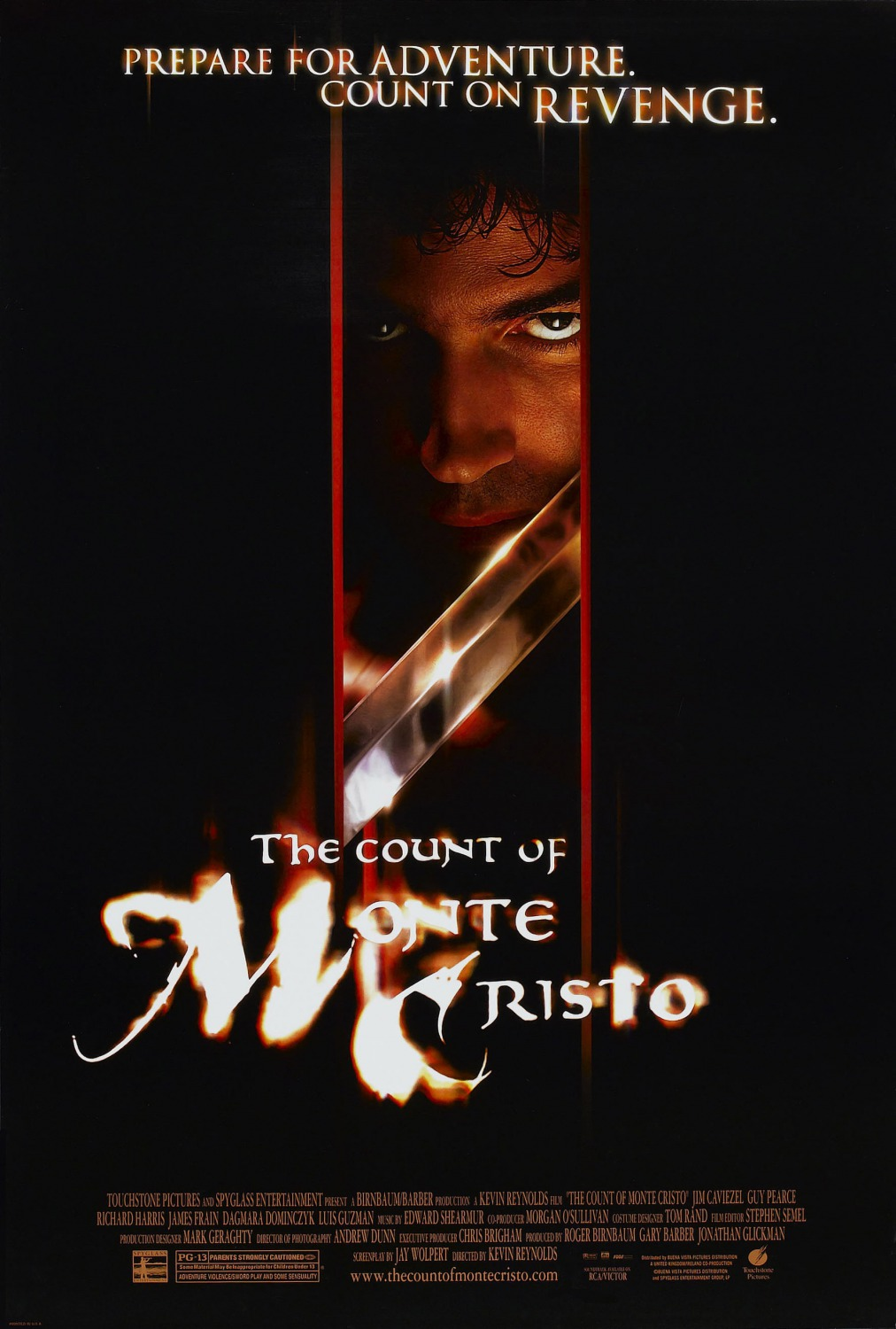 The Count of Monte Cristo (2002) BluRay 720p & 1080p