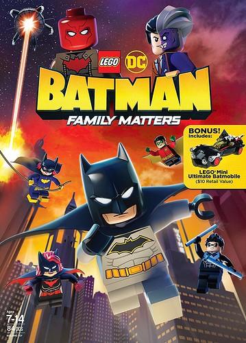 LEGO BETMENAS: ŠEIMA SVARBI (2019) / LEGO DC: BATMAN - FAMILY MATTERS