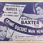 Warner Baxter and Ellen Drew in Crime Doctor's Man Hunt (1946)