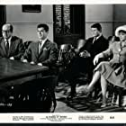 Tony Curtis, Suzanne Pleshette, Phil Silvers, and Larry Storch in 40 Pounds of Trouble (1962)