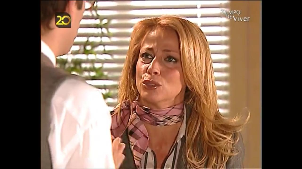 Marco Delgado and Alexandra Lencastre in Tempo de Viver (2006)