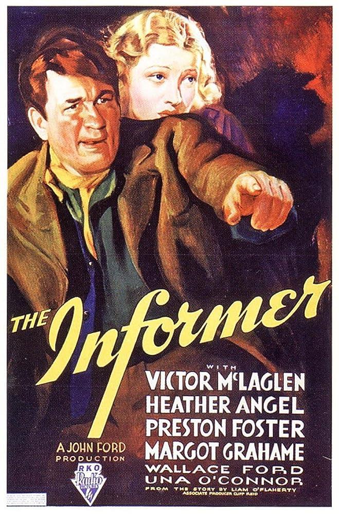 Margot Grahame and Victor McLaglen in The Informer (1935)