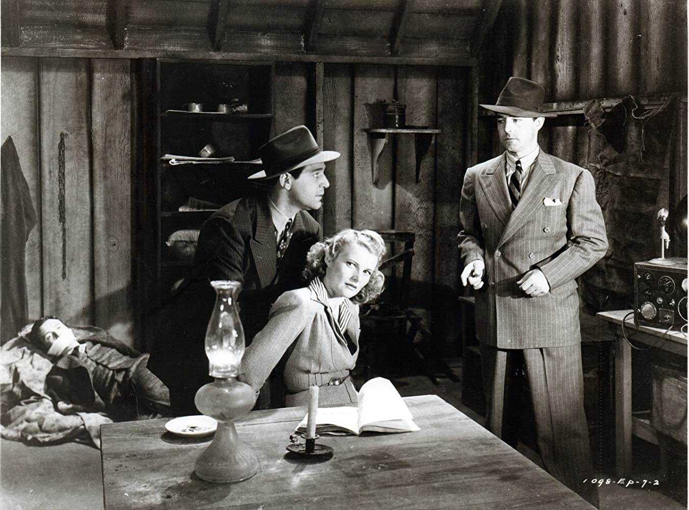 Louise Currie and Kenne Duncan in Adventures of Captain Marvel (1941)