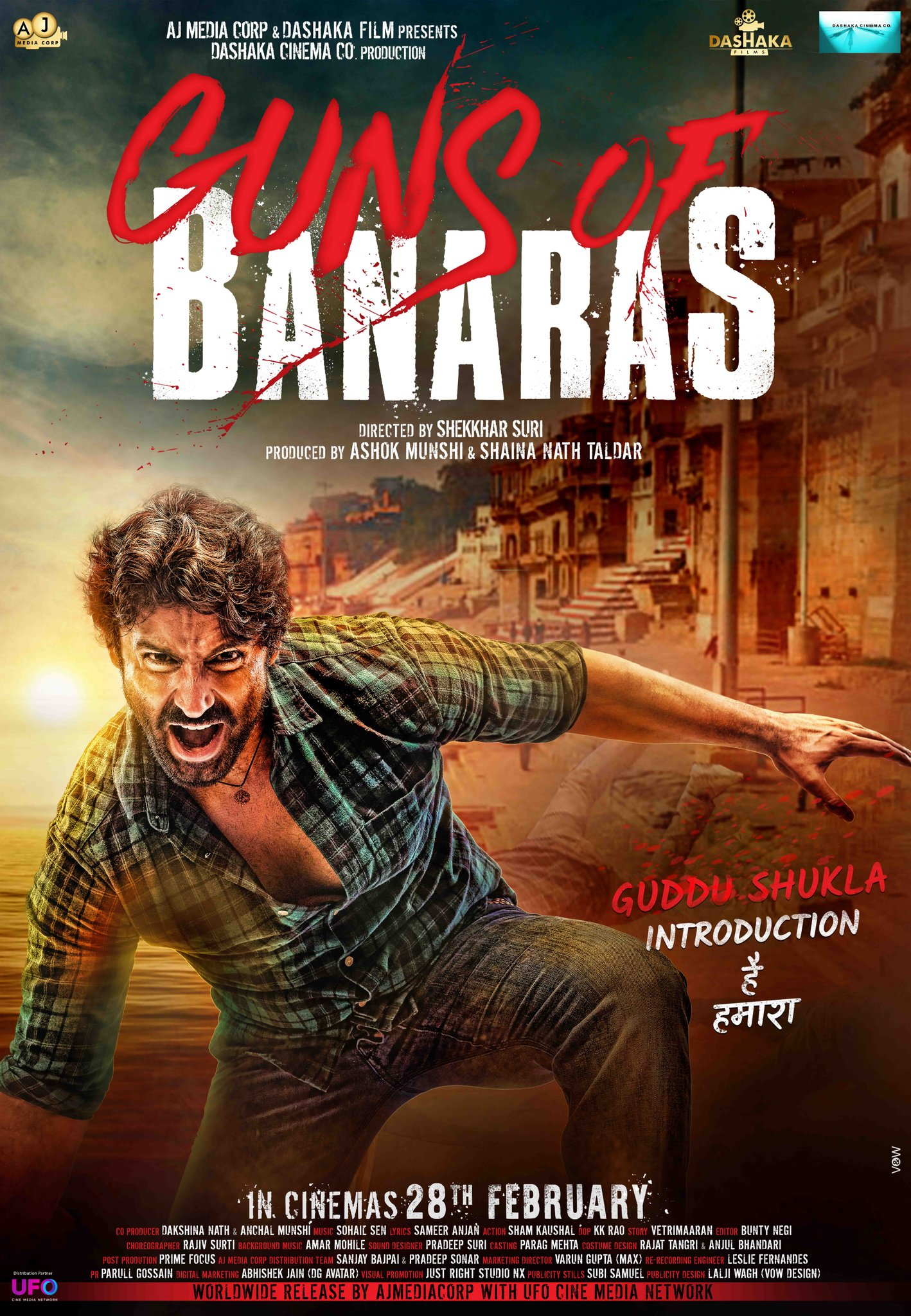 Guns of Banaras (2020) Hindi Full Movie 480p HDRip ESubs 400MB Download