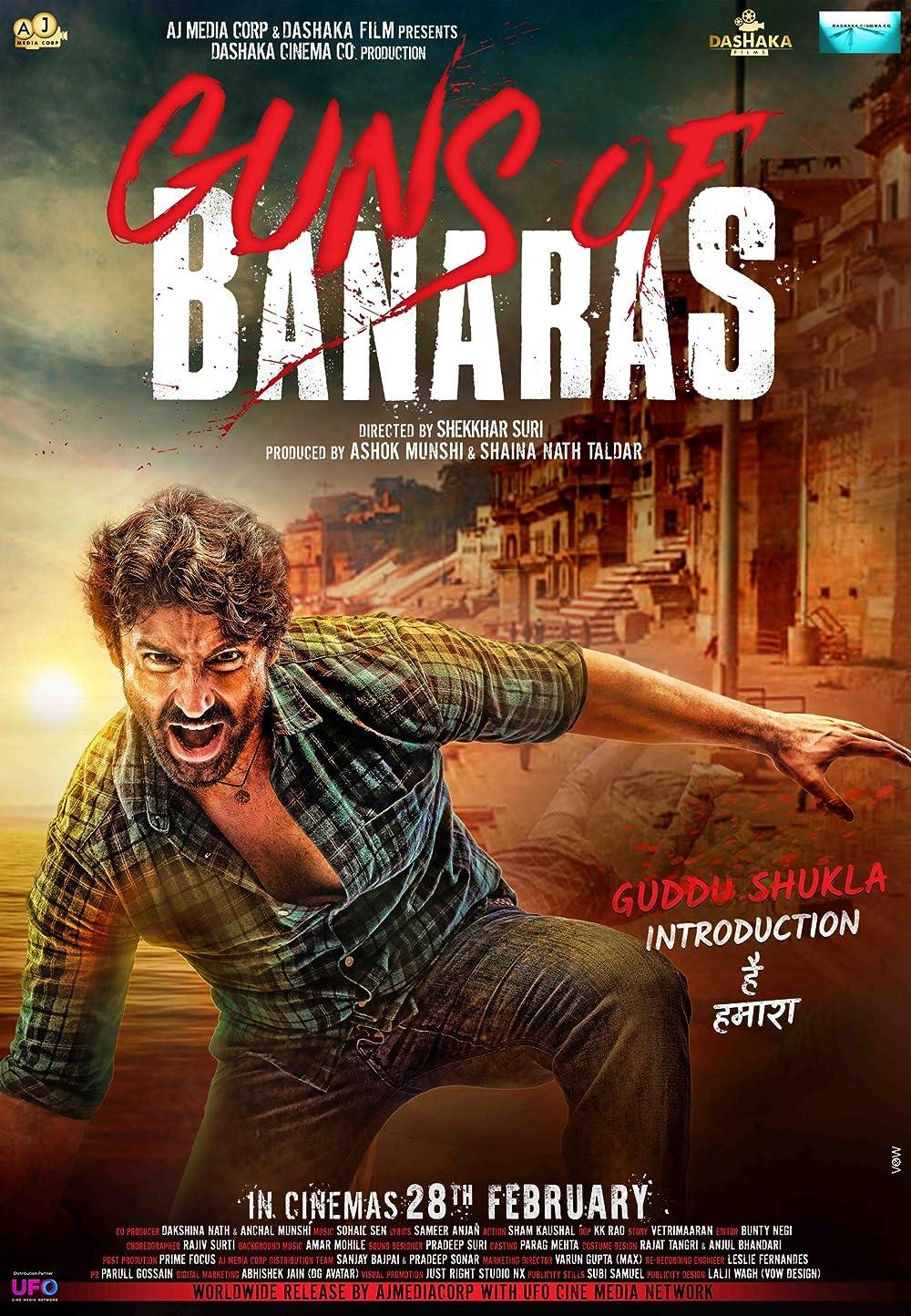 Guns of Banaras 2020 Hindi Movie 480p AMZN HDRip ESub 390MB Download
