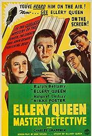 Ellery Queen, Master Detective Poster