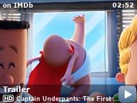 captain underpants movie free