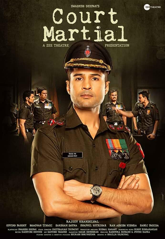 Court Martial (2020) Hindi 720p HDRip x264 AAC ESubs [750MB] Full Bollywood Movie