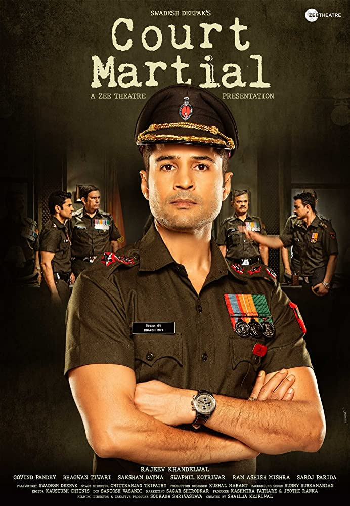 Court Martial 2020 full hd Hindi 480p HDRip 300MB ESubs