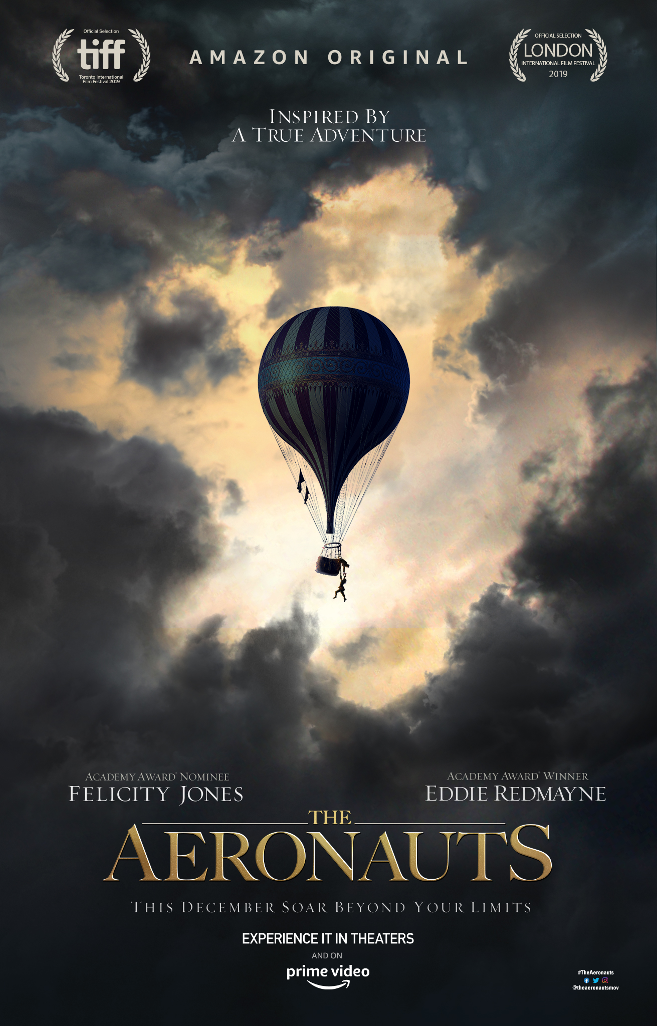 Image result for The Aeronauts Movie poster