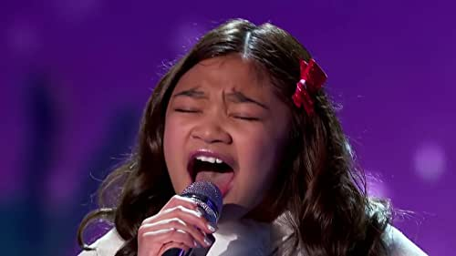 Little Big Shots: Angelica Hale Sings Santa Claus Is Comin' To Town