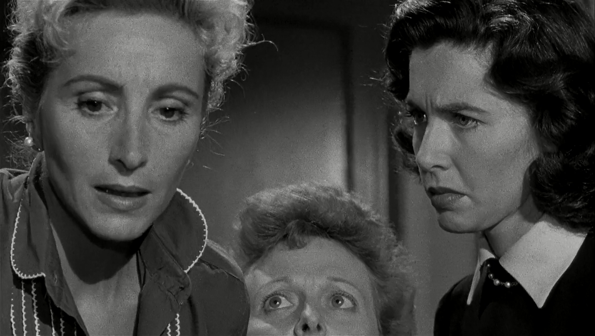 Anna Karen, Doreen Lang, and Peggy Webber in The Wrong Man (1956)
