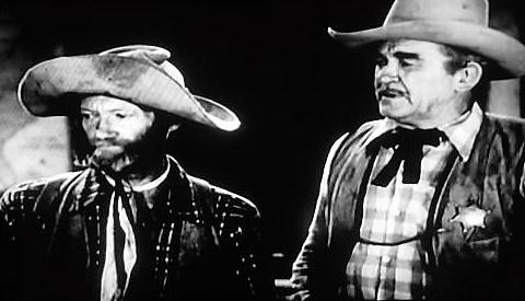 Bud Osborne and Al St. John in Overland Riders (1946)