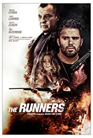 Tom Sizemore, Micah Lyons, and Netty Leach in The Runners (2020)