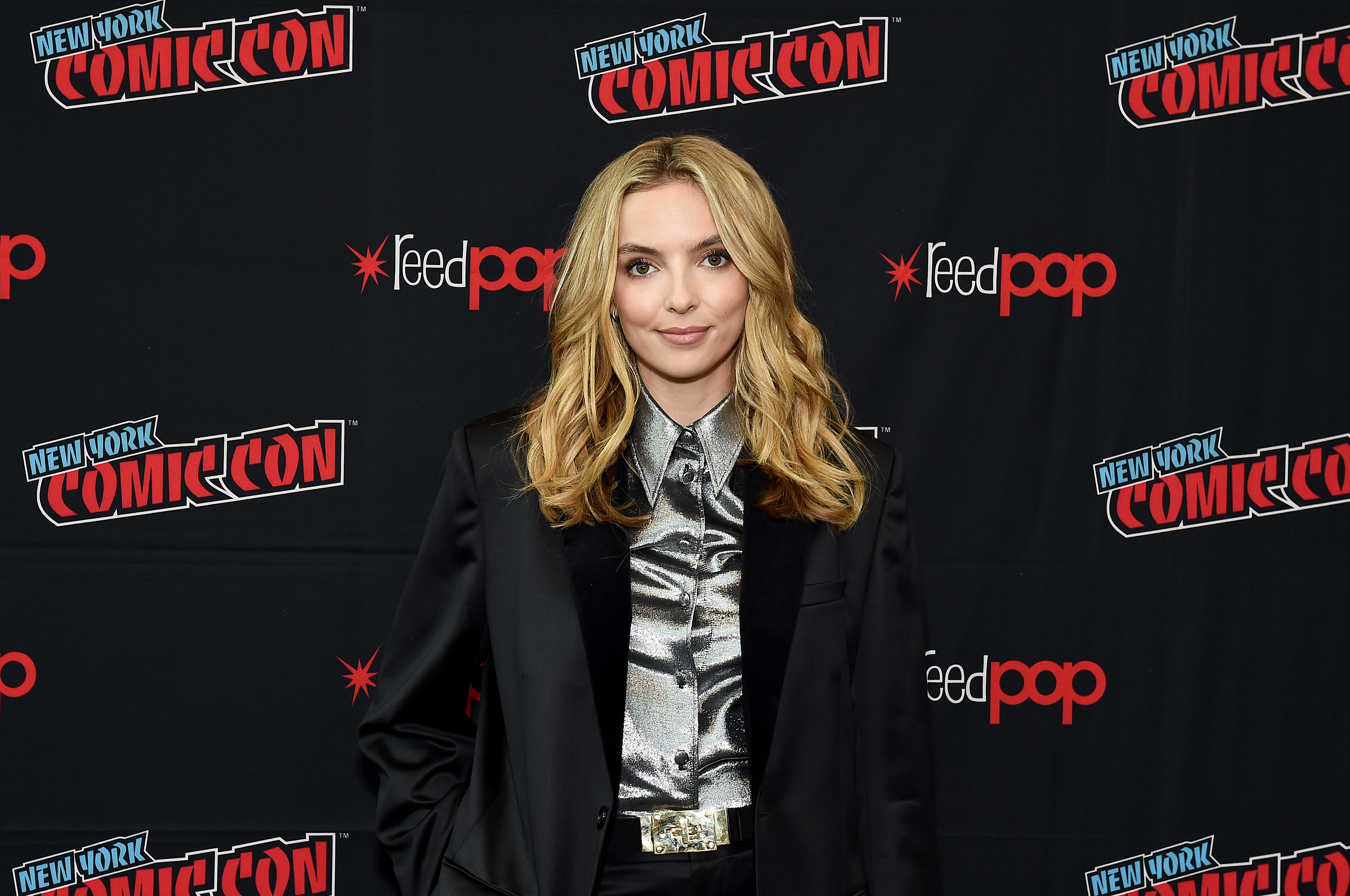Jodie Comer at an event for Free Guy (2021)