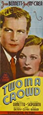 Two in a Crowd (1936) Poster