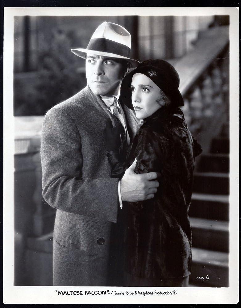 Ricardo Cortez and Bebe Daniels in The Maltese Falcon (1931)