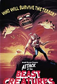 Attack of the Beast Creatures Poster