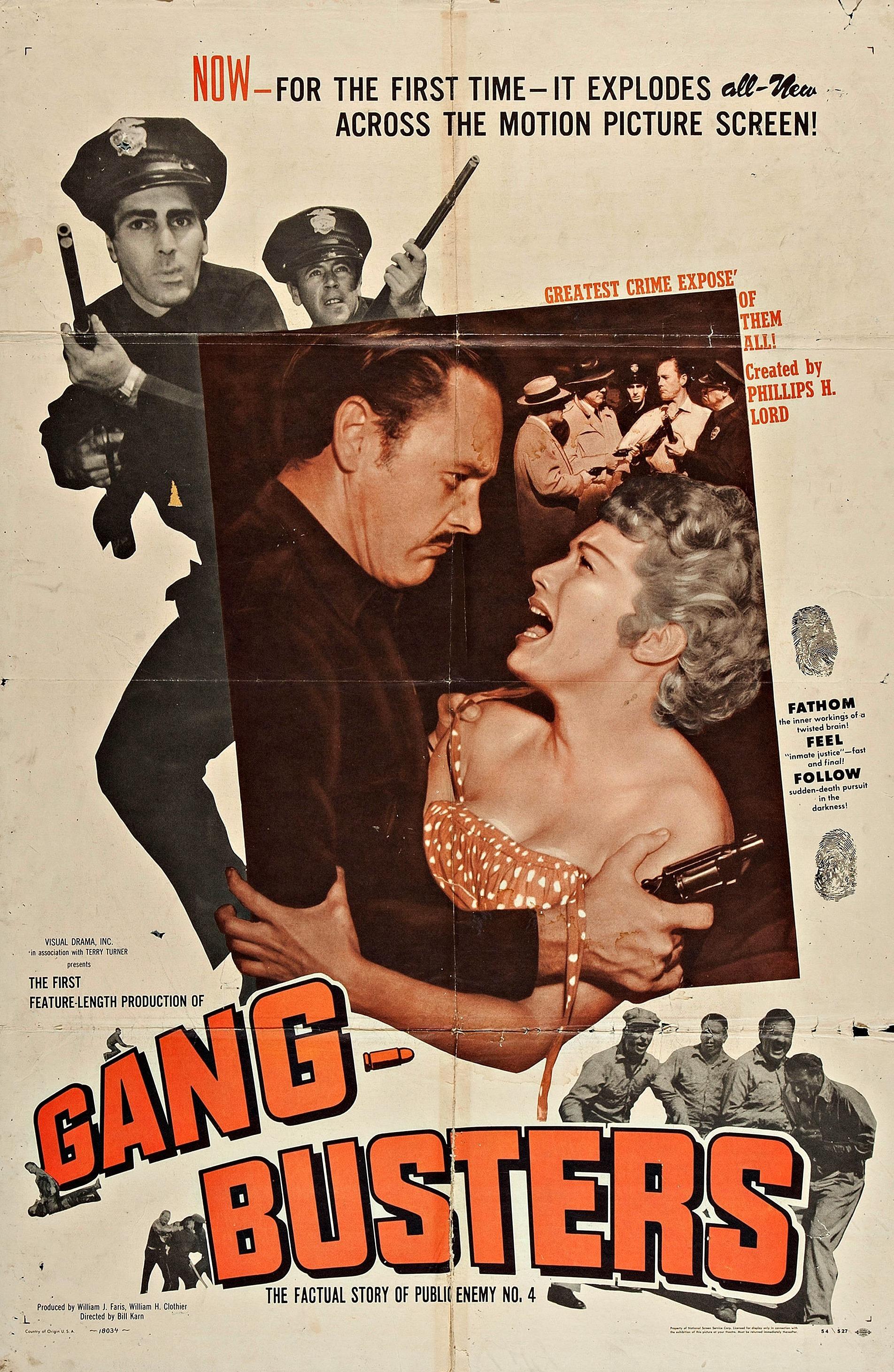 Gang Busters (1955) - IMDb