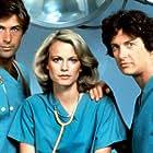 Alec Baldwin, Shelley Hack, and Jim Metzler in Cutter to Houston (1983)