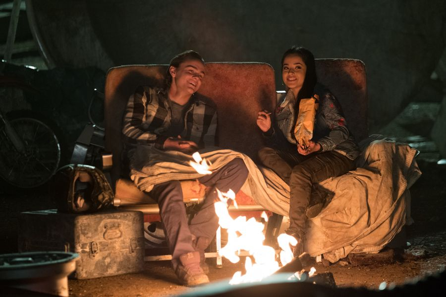 Alex Neustaedter and Becky G in A.X.L. (2018)