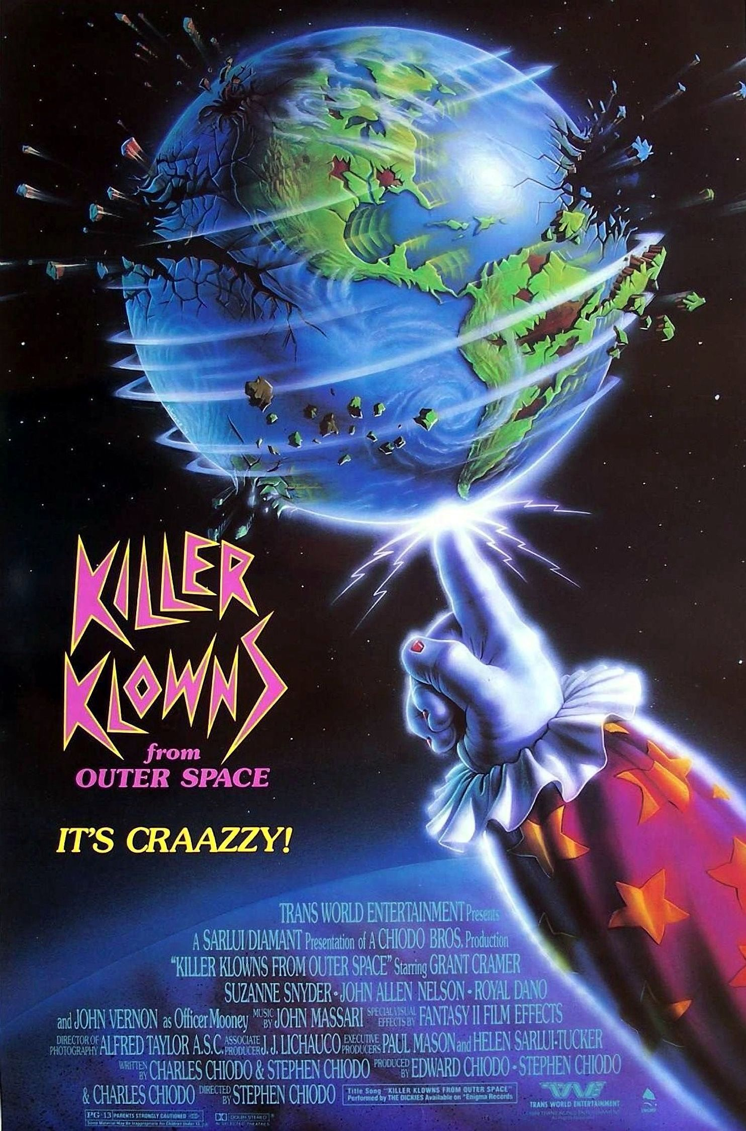 Killer klowns from outer space (1988) imdb.