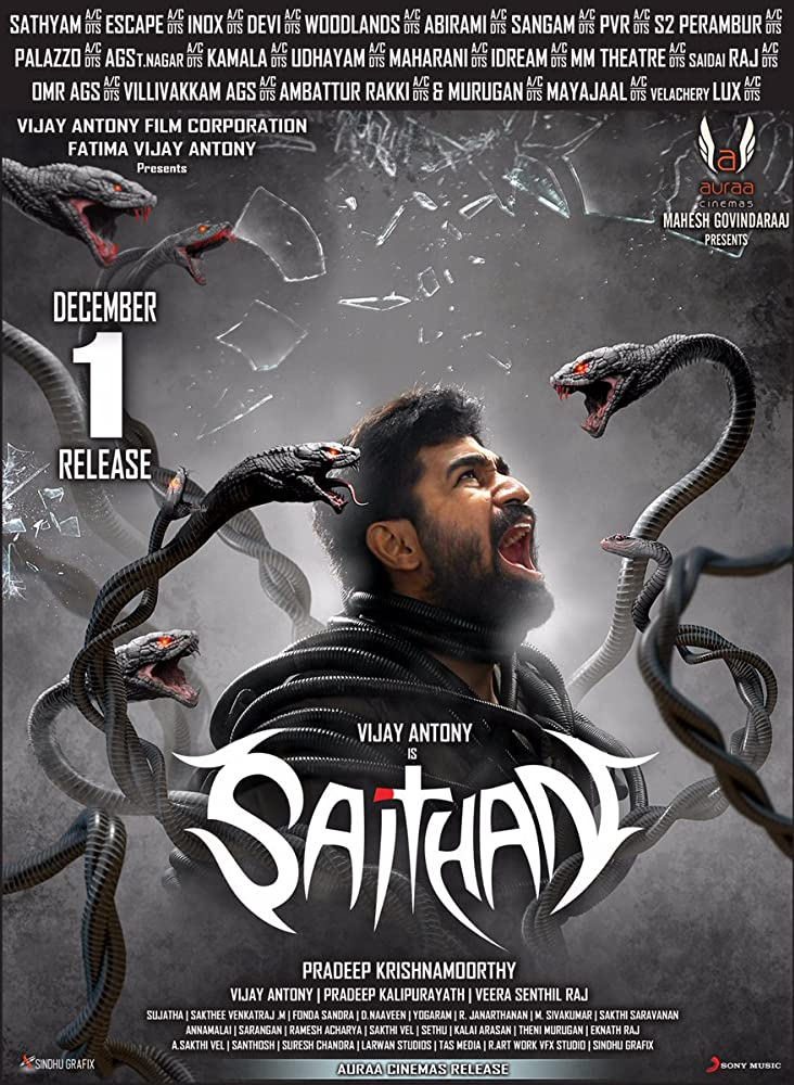 Saithan (2016) Tamil Movie Hindi Dubbed Untouched HDRip x264 AAC  480p | 720p | 1080p  –   300MB | 550MB | 780MB