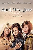 April, May and June