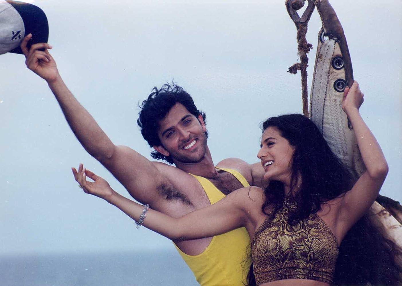 Hrithik Roshan and Ameesha Patel in Kaho Naa... Pyaar Hai (2000)