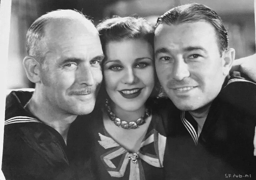 Ginger Rogers, Robert Armstrong, and James Gleason in Suicide Fleet (1931)