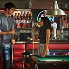 Maisie Richardson-Sellers and Jacob Elordi in The Kissing Booth 3 (2021)