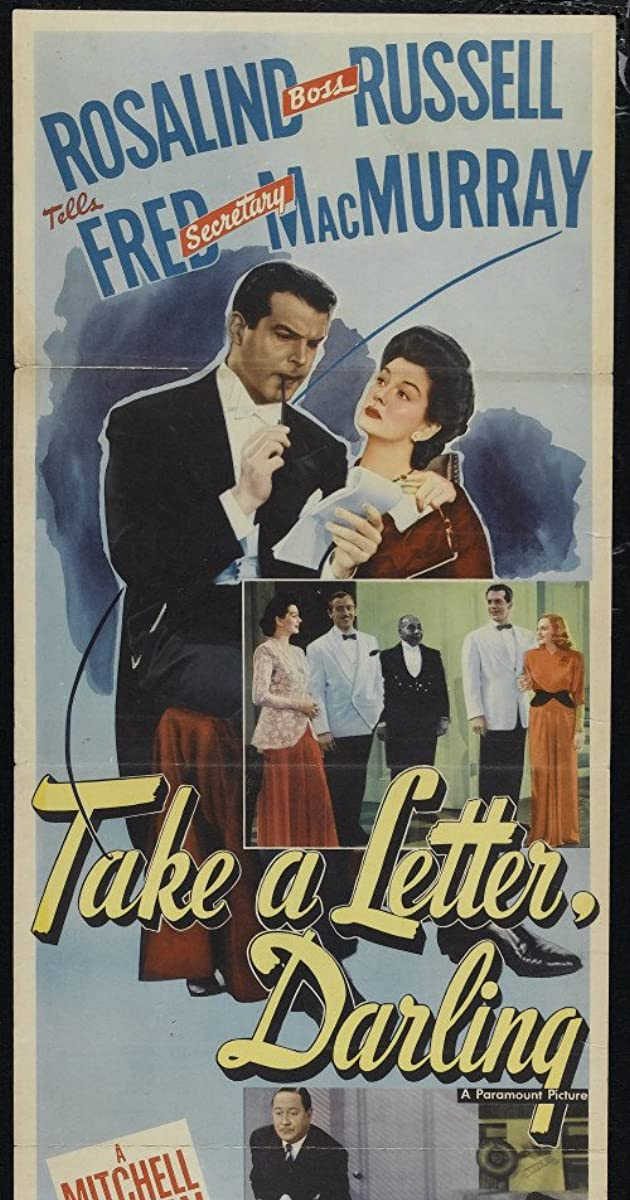Take A Letter Darling 1942 Imdb