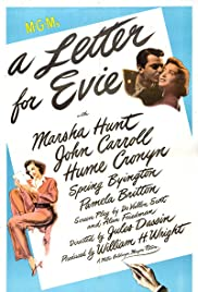 A Letter for Evie (1946) Poster - Movie Forum, Cast, Reviews
