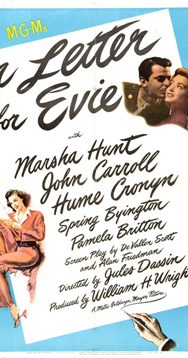 A Letter for Evie (1946) - IMDb