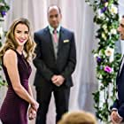 Arielle Kebbel and Andrew W. Walker in Bridal Wave (2015)