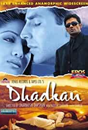 Dhadkan | 2000 | 720p | hindi | DVDRIP | 2 GB