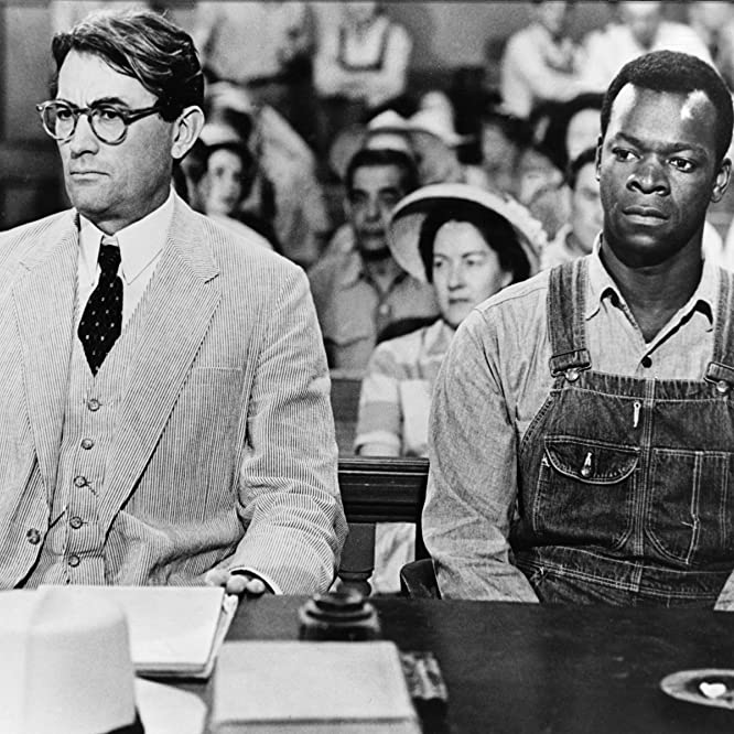 Gregory Peck and Brock Peters in To Kill a Mockingbird (1962)
