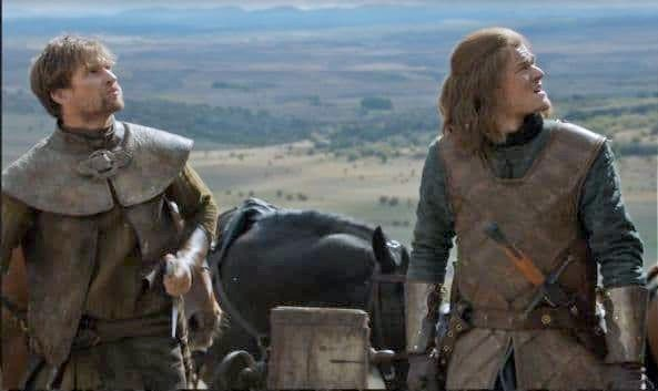 Leo Woodruff and Robert Aramayo in Game of Thrones (2011)
