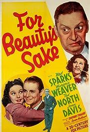 For Beauty's Sake Poster