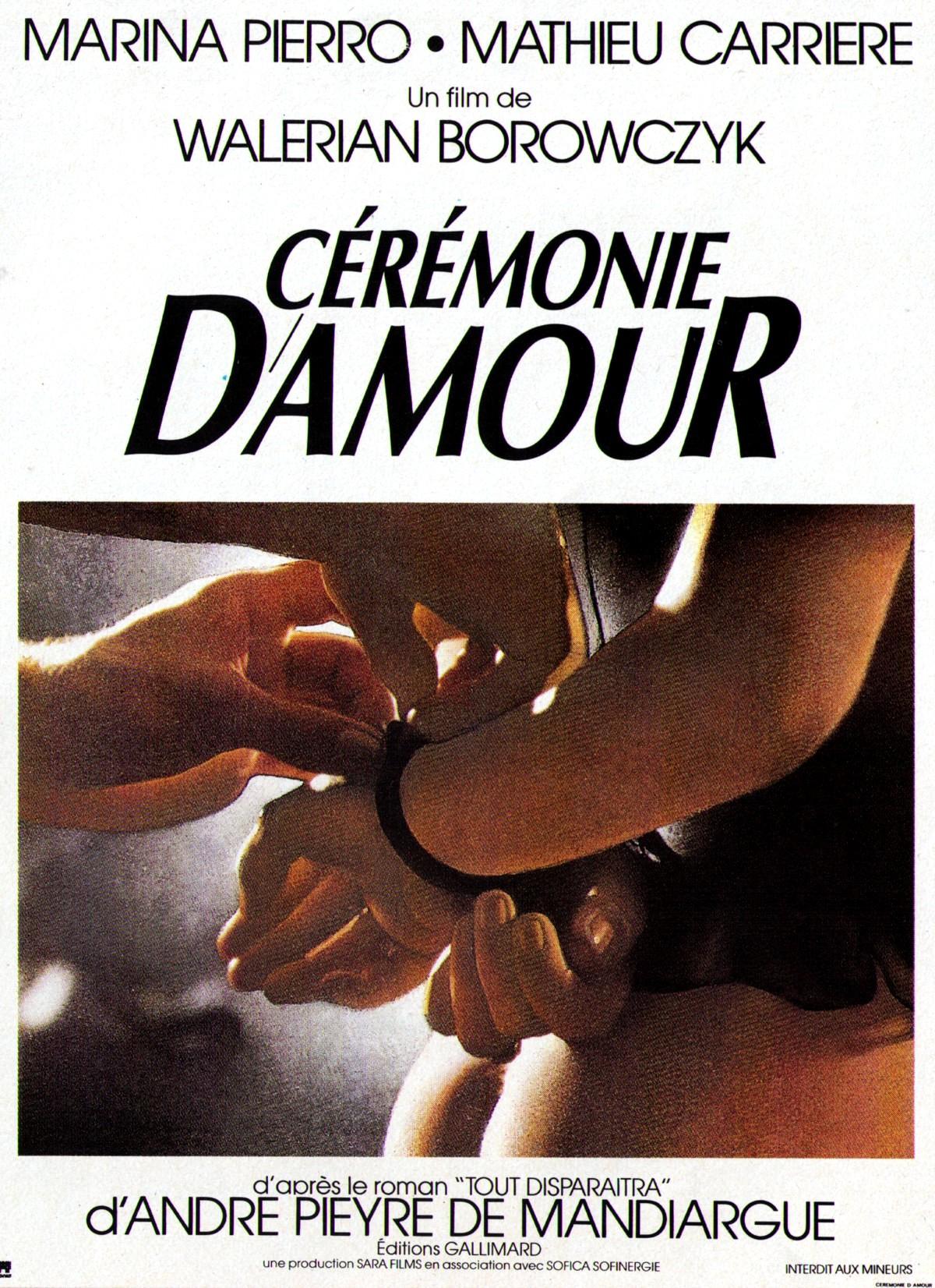 Cérémonie d'amour (1987)
