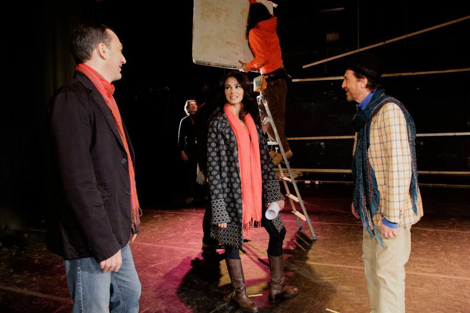 Maria Grazia Cucinotta, Massimo Lello, and Giancarlo Ratti in La tana del bianconiglio (2012)