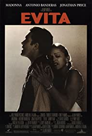 Antonio Banderas and Madonna in Evita (1996)